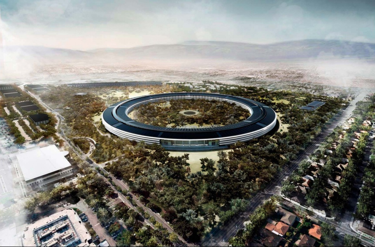Обзор Apple Campus