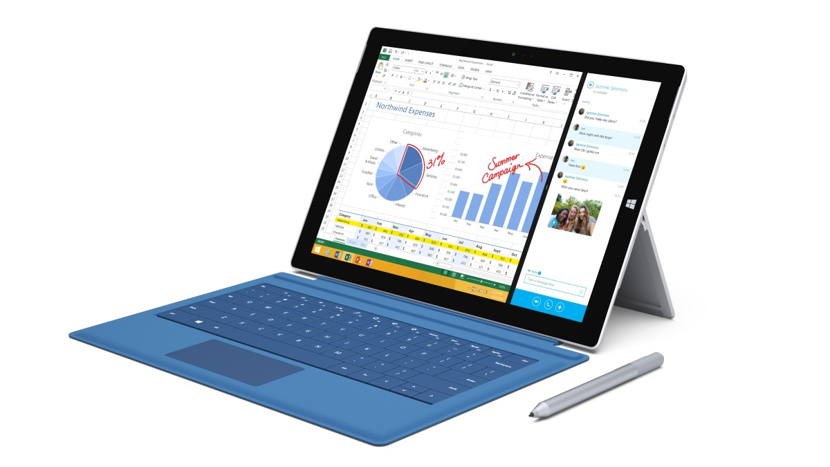 Microsoft представила Surface Pro 3